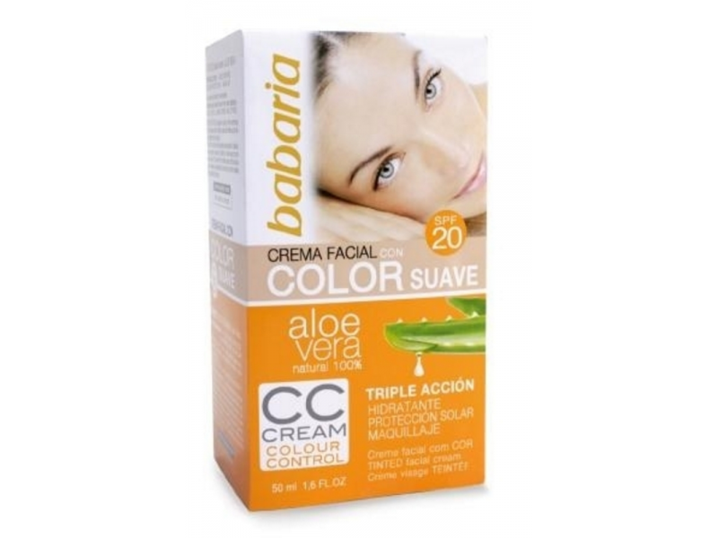 CC Cream SPF 20 cu Aloe Vera (Make up ) 50 ML